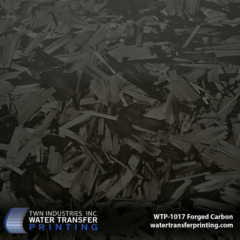 WTP-1017 Forged Carbon Hydro Dip Film