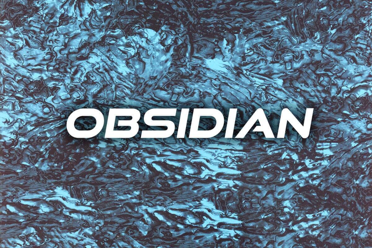 Obsidian Hydrographic Film