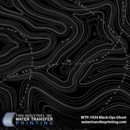 WTP-1034 Black Ops Ghost Hydro Dip Film