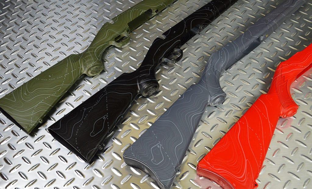 Black Ops Hydro Dip Film Gun Stocks