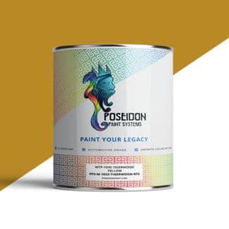 Tigerwood Yellow Hydrographic Paint Poseidon