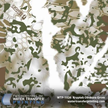 WTP-1026 Kryptek Obskura Grom Hydro Dip Film