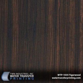 WTP-1035 Tigerwood Hydro Dip Film