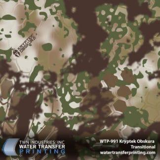 WTP-991 Kryptek Obskura Transitional Hydro Dip Film