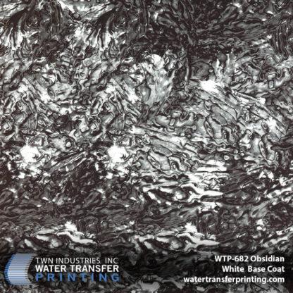 WTP-682 Obsidian Hydro Dip Film White