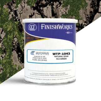 Hydrographic Paint: WTP-1043 Natural Gear SC2 Green