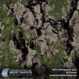 WTP-1043 Natural Gear SC2 Green Hydro Dip Film