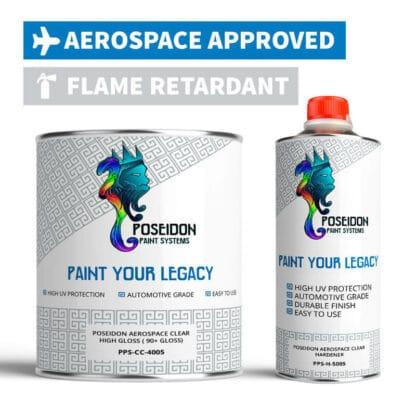 Aerospace Clear Coat Kit Flame Retardant
